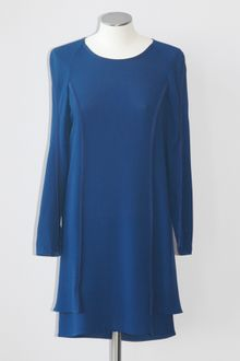 3.1 Phillip Lim Long Sleeve Crepe Dress - Lyst