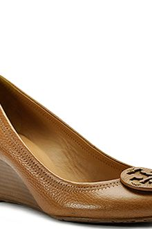 Tory Burch Sally - Tan Leather Wedge - Lyst