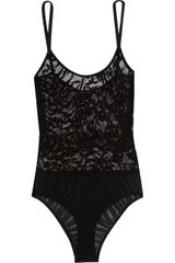 The Lake & Stars Wave Lace Bodysuit - Lyst