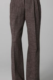 Robert Rodriguez Tweed Wide Leg Pants - Lyst