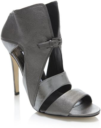 Camilla Skovgaard Leather Cut-out Sandals - Lyst