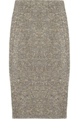 Donna Karan New York Misty Bouclé Pencil Skirt - Lyst