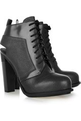 Alexander Wang Dakota Leather Ankle Boots - Lyst