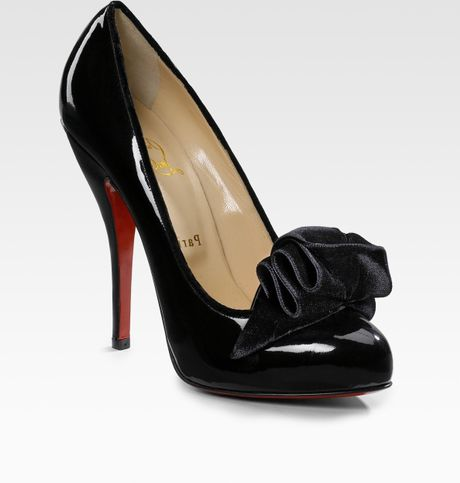 Christian Louboutin Lady Page Pumps in Black - Lyst