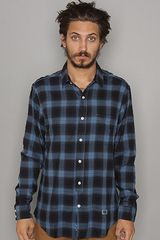Freshjive The Nightly Buttondown Shirt in Black - Lyst
