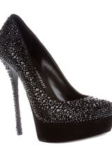 Gianmarco Lorenzi Crystal Embellished Pump