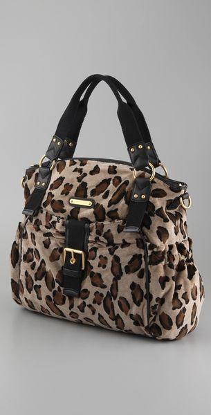Juicy Couture Juicy Baby Stroller Bag In Beige Croissant