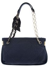 Lanvin Quilted Bag in Blue - Lyst
