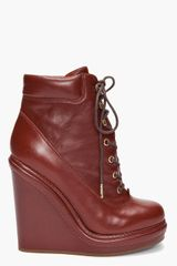 Marc By Marc Jacobs Mocasso Wedge Boots - Lyst