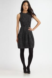 Michael by Michael Kors Tweed Sheath Dress - Lyst
