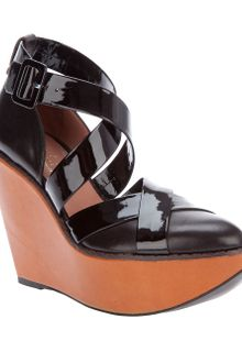 Robert Clergerie Wedge Shoe - Lyst