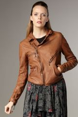 What Goes Around Comes Around West Leather Motorcycle Jacket - Lyst