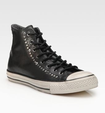 Converse John Varvatos Studded Leather High-tops - Lyst