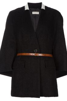 Dries Van Noten Cape Sleeve Coat - Lyst