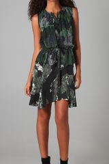 Edun Marble Print Dress - Lyst