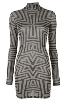Gareth Pugh Tribal Print Top - Lyst
