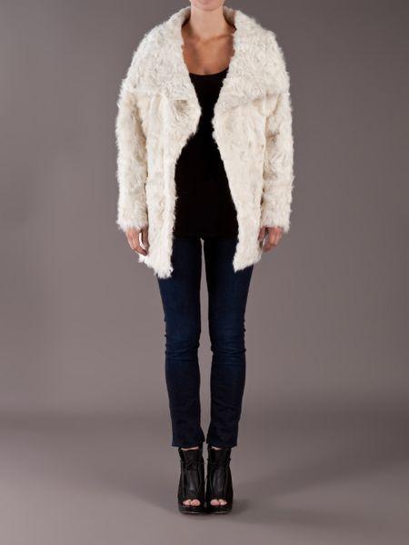 Iro Jemina Fur Coat in