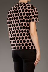 Marc Jacobs Dot Top in Pink - Lyst