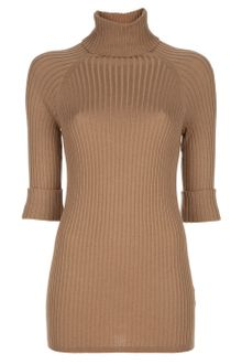 Vince Rib Turtle Neck Sweater - Lyst