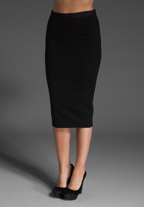 Bailey 44 Midi Tube Skirt in Black | Lyst