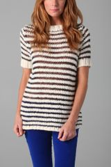 Dolce Vita Vin Short Sleeve Knit Top - Lyst
