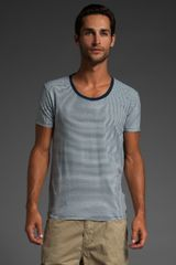 Scotch & Soda Stripe Tee - Lyst