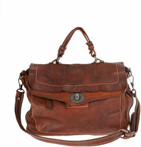 Giorgio Brato Top Handle Bag in Brown - Lyst