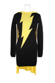 Jeremy Scott Knitted Fitted Dress - Lyst