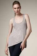 Splendid Striped Asymmetric Tank - Lyst