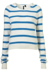 Topshop Bardot Jumper By Boutique - Lyst