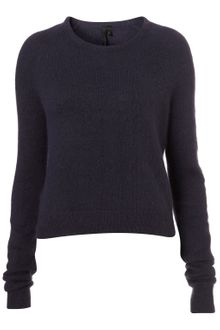 Topshop Angora Bardot Jumper By Boutique - Lyst