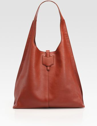 Yves Saint Laurent Ysl Leather Hobo Bag - Lyst