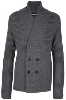 Neil Barrett Double Breasted Cardigan - Lyst