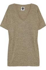Zoe Tees Super Recycled Cotton-blend T-shirt - Lyst