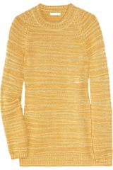 Chloé Felted Fine-knit Sweater - Lyst