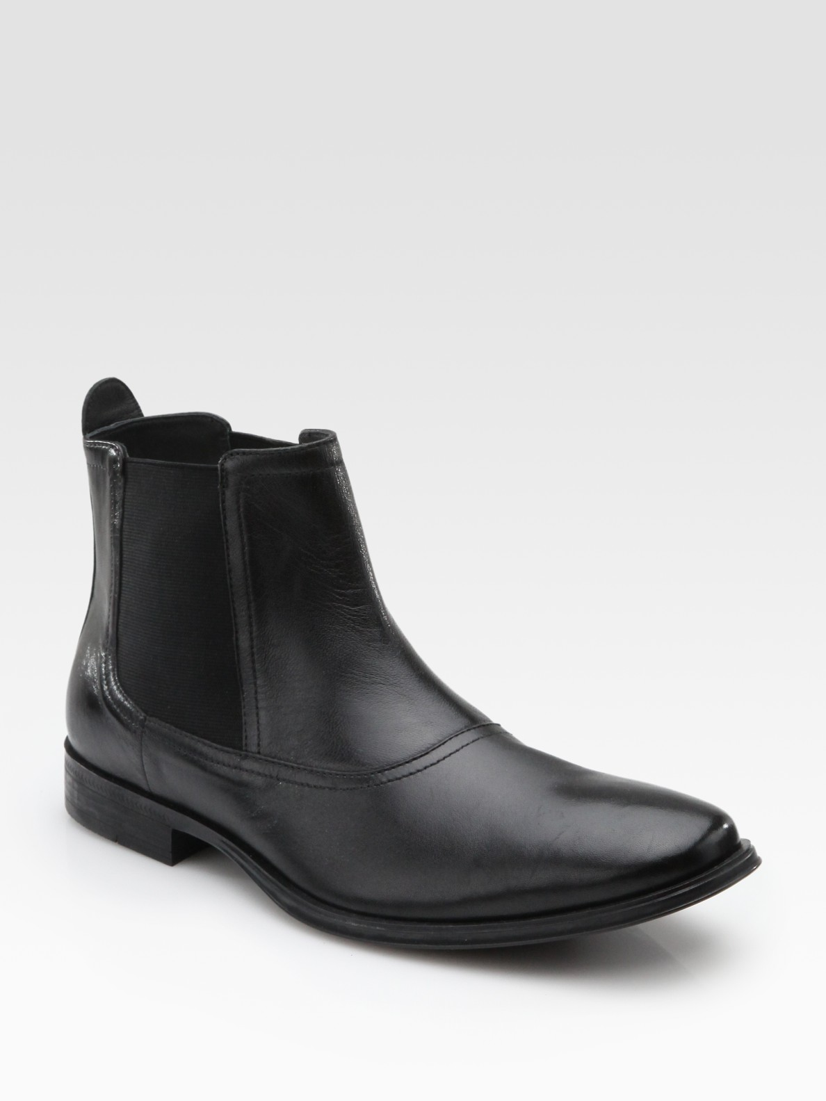 cole haan air chelsea boots in black for lyst