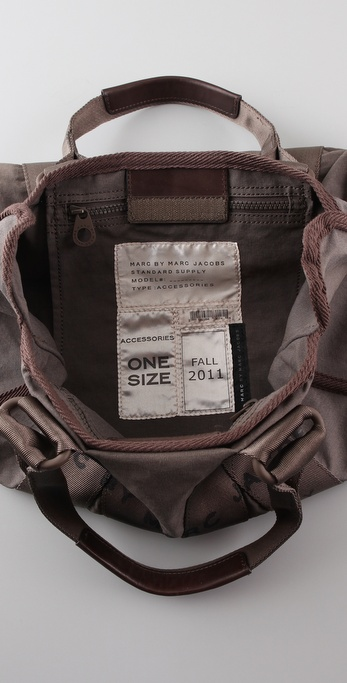 fb91d25053ab7 Marc By Marc Jacobs M Standard Supply Small Cargo Satchel in Gray - Lyst