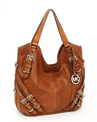 Michael by Michael Kors Milo Large Tote, Luggage - Lyst
