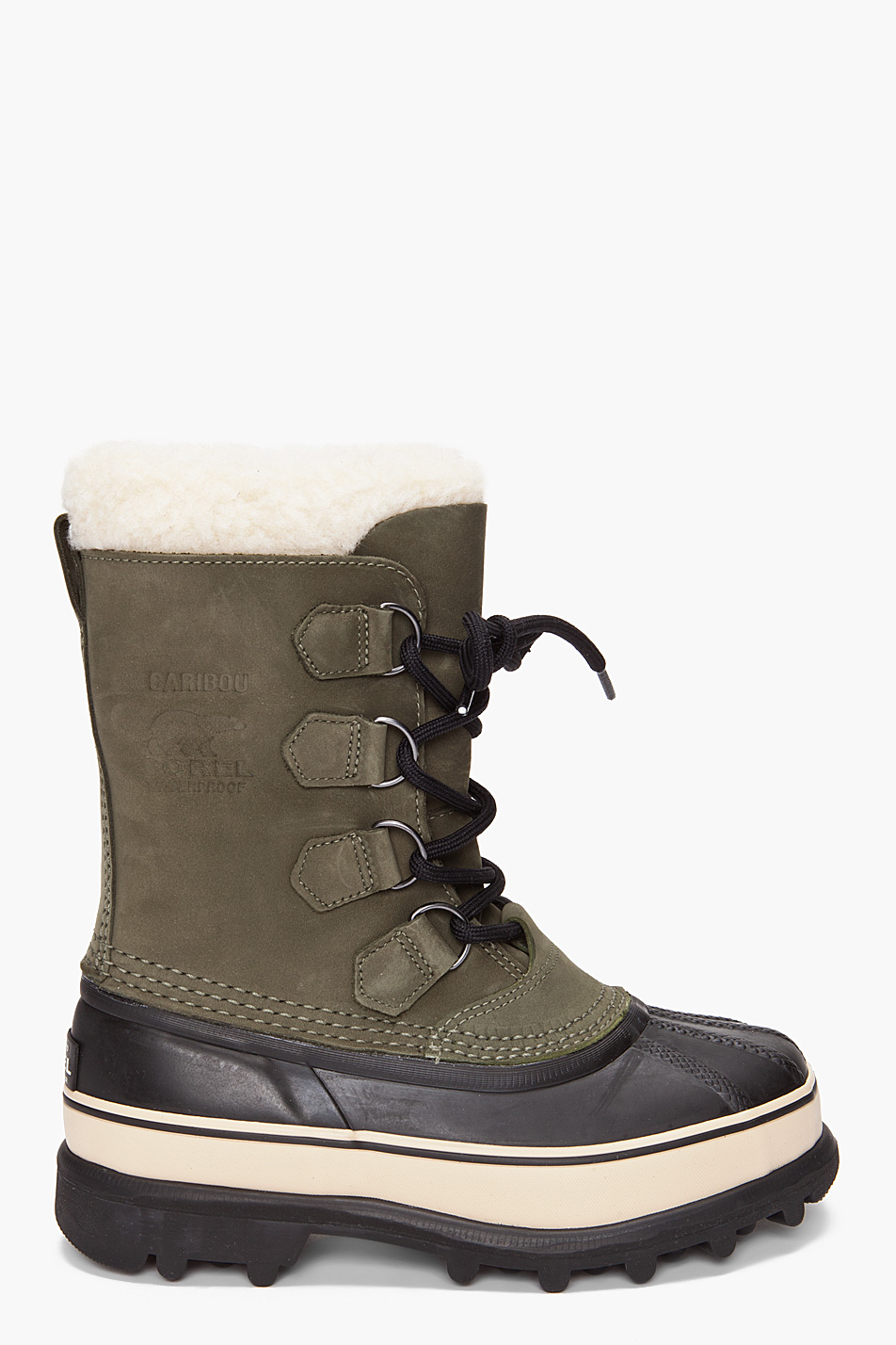 Lyst Sorel Womens Caribou Boot In Green