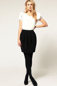 ASOS Collection Asos Bell Mini Skirt - Lyst