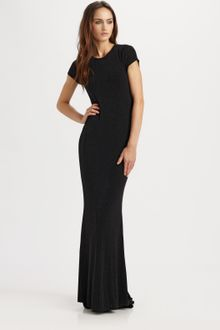 Alice + Olivia Rumer Open-back Maxi Dress - Lyst