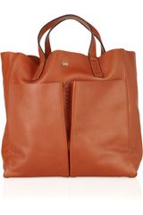 Anya Hindmarch Nevis Raw Leather Tote - Lyst