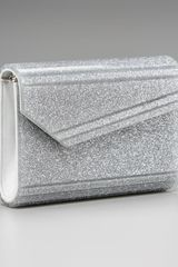 Jimmy Choo Candy Glitter Clutch - Lyst