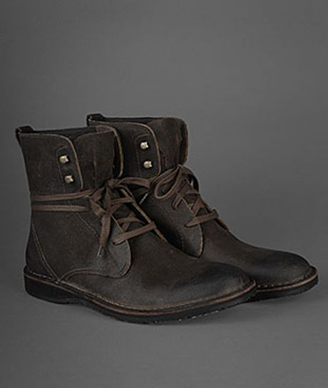 john varvatos winter hipster convertible boot in brown for