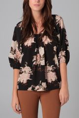 Joie Romantic Floral Newbury Top - Lyst