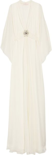 Matthew Williamson Silk-chiffon Gown - Lyst