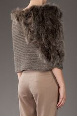 Pinko Milena Shrug in Brown - Lyst