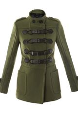 Burberry Prorsum Bonded Technical Stitch Duffle Coat - Lyst