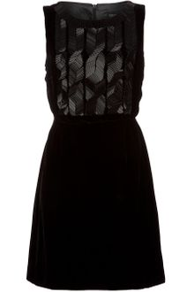 Sophie Hulme Cable Beaded Velvet Dress - Lyst