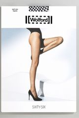 Wolford Sixty-six Fine Fishnet Tights - Lyst